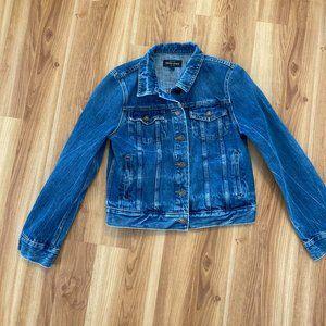 J Crew Indigo Denim Jacket Size sm